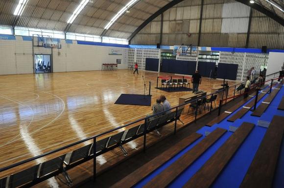 Otra vista del gimnasio del CEFUBB. Foto: F. Flores
