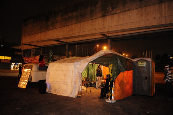 Nueva carpa sindical. Foto: Marcelo Bonjour