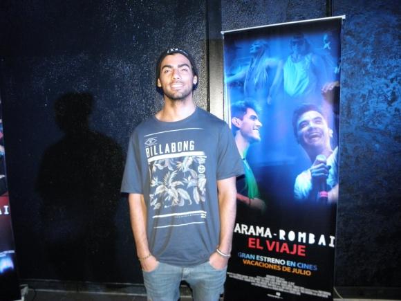 Alejandro Vázquez, tecladista de Márama y hermano de Fer.