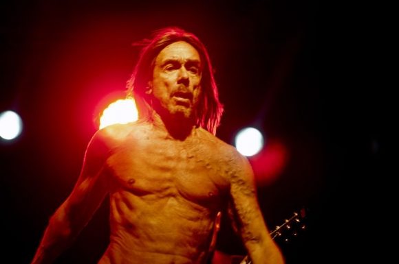 Iggy Pop demostró una fuerza que contagió a un auditorio que quedó hechizado. Foto: F. Ponzeto
