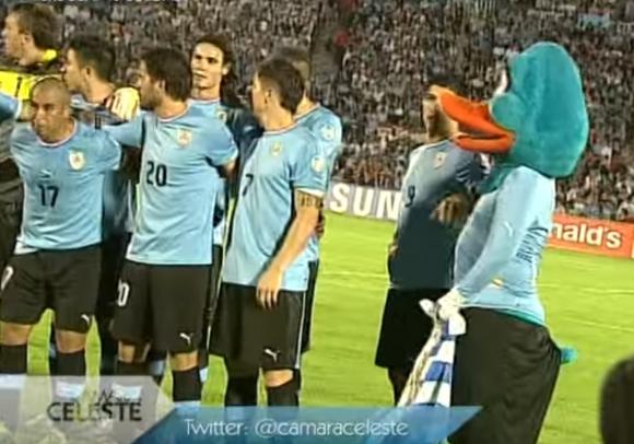 Suárez y el Pato celeste (Captura tv)