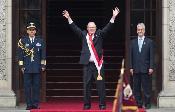 El presidente de Perú prometió una revolución social. Foto: AFP