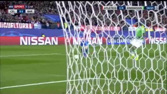 Atlético de Madrid 2-0 PSV - Champions League