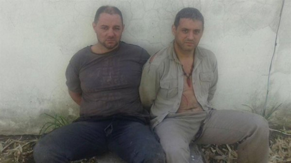 Cristian Lanatta y Víctor Schilacci. Foto: La Nación | GDA
