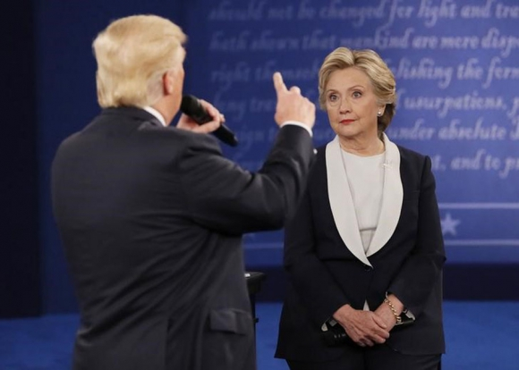 Hillary Clinton y Donald Trump. Foto: Reuters