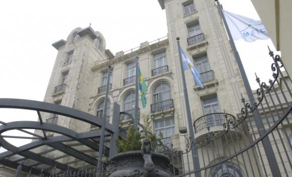 Edificio del Mercosur. Foto: Archivo El País