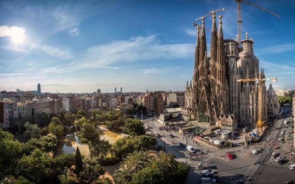 Templo de la Sagrada Familia. foto: www.SagradaFamilia.org