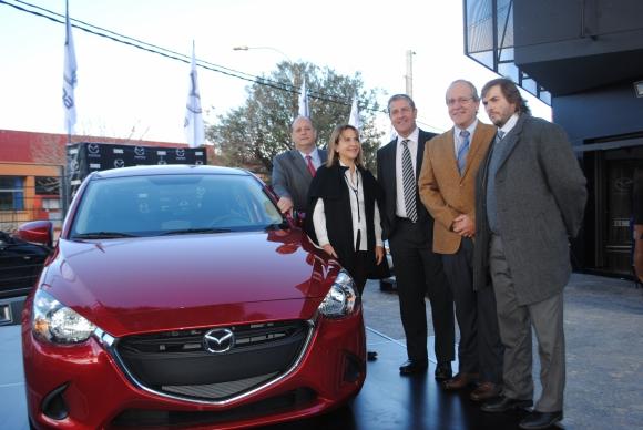 Marcelo Burghi, Stella, Fernando, y Guillermo Arrieta, Nicolás Scheck.