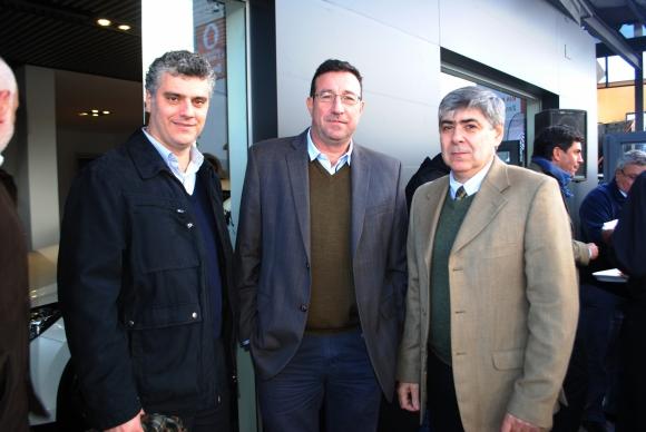 Diego Urrutia, Ricardo Fabini, Antonio Vasco.