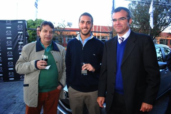Fernando Senatore, Federico Arrieta, Paul Camandulli.