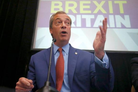 Nigel Farage anunció su renuncia a la presidencia del Ukip. Foto: Reuters.