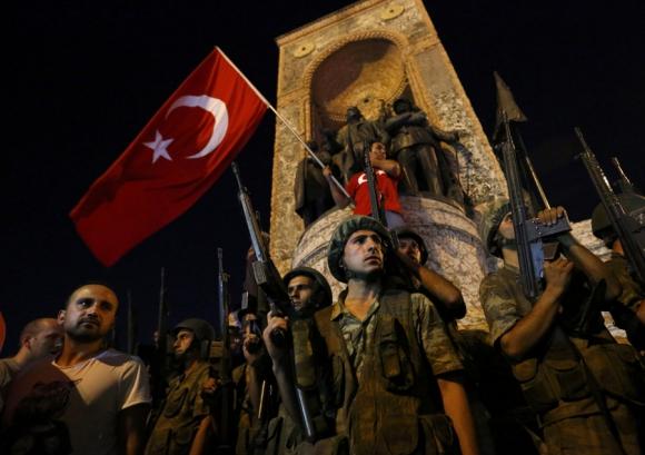 Golpe de Estado en Turquía. Foto: Reuters