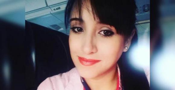 Ximena Suárez, azafata rescatada con vida. Foto: El Deber