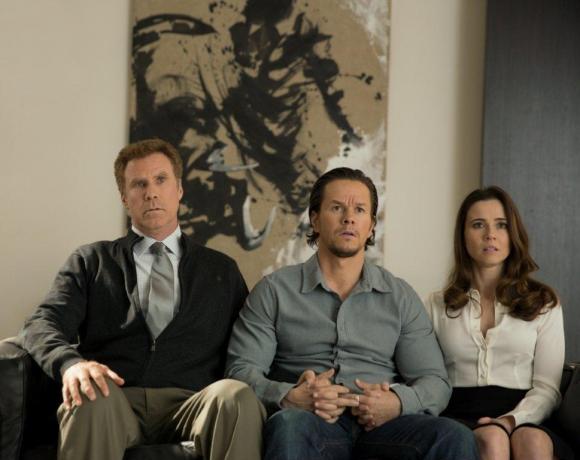 Will Ferrell es el padrastro y Mark Wahlberg es el padre biológico.