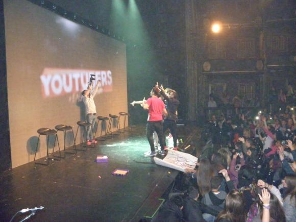 Youtubers en acción
