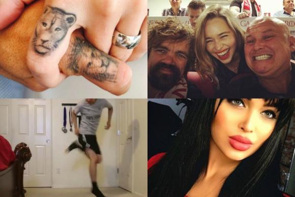 El significado del tatuaje de Suárez, Game of Thrones de hinchada y más