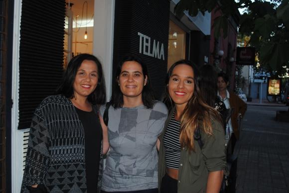 Maite Pampin, Magdalena Pi, Amparo Pampin.