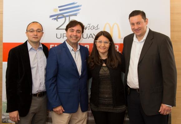 Carlos Varela, Daniel Guazzo, Karina Montiel, Daniel Castera.