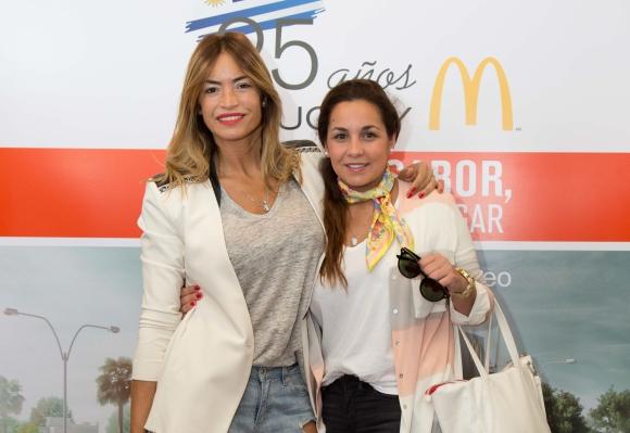 Claudia y Mariana Fernández.