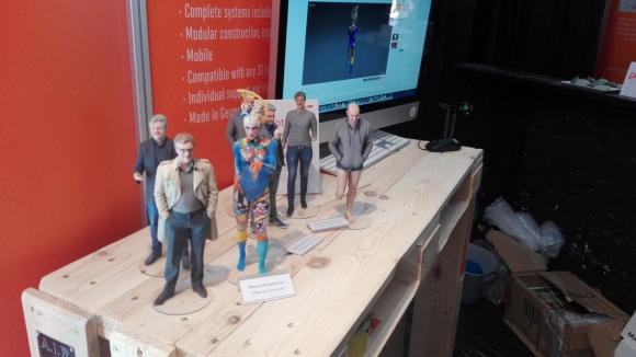 Tecnología. Varios proyectos presentados en el evento consistían en una de las tecnologías en auge, las impresiones 3D.