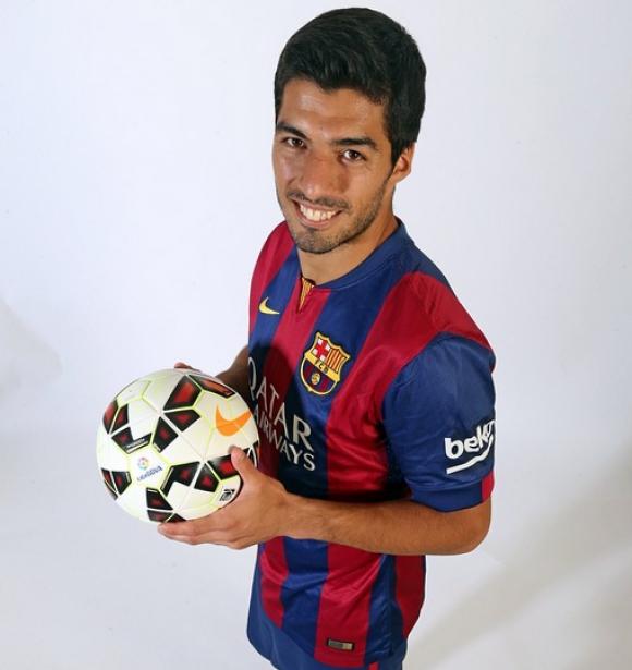 Luis Suárez, foto oficial de FCB en Instagram. Foto: @fcbarcelona