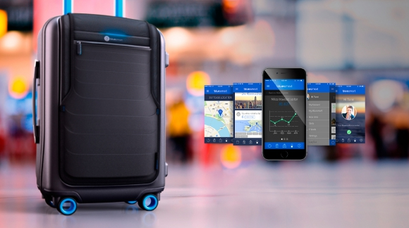 Bluesmart es la primera valija con GPS.