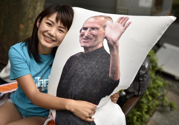 Llegada del iPhone 7 a Japón. Foto: EFE