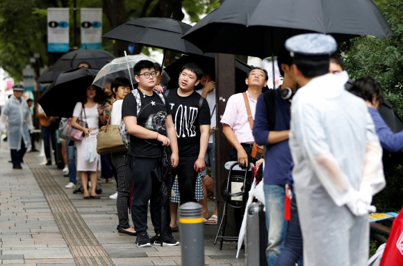 Espera por el iPhone 7 en Japón. Foto: Reuters