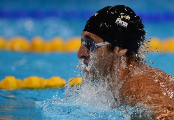 El nadador Martín Melconian. (Foto: AFP)