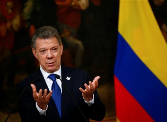 Juan Manuel Santos. Foto: Reuters