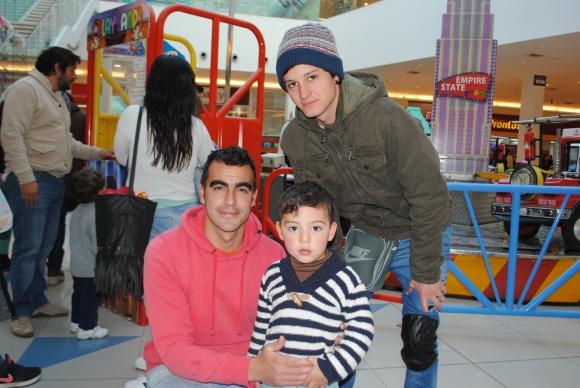 Jesús Martínez, Emiliano Negrin, Pablo Silva.