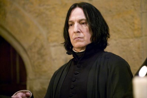 Severus Snape, el personaje de Harry Potter. Foto: Difusión