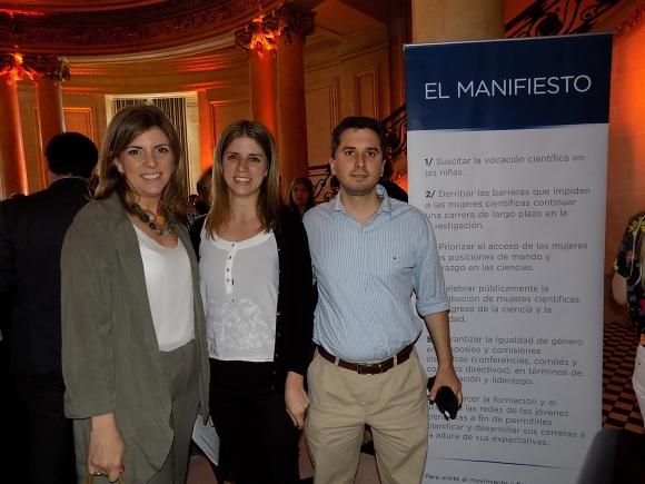 Karina Porteiro, Adriana Espinosa, Emiliano Reisfeld.