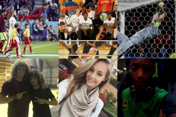 El blooper de Buffon, la imagen de Jamaica, el clon de David Luiz y más