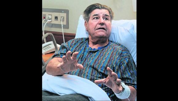 En 2014 Rodolfo Deambrosi fue baleado en una pierna. Foto: archivo El País
