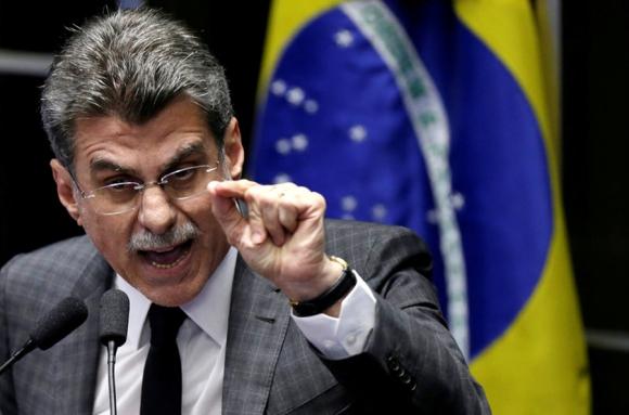 Jucá se separó ayer de su cargo en el gobierno de Temer. Foto: Reuters