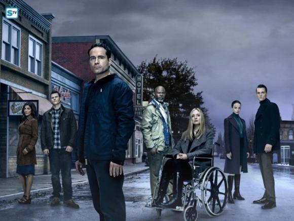 El elenco de la nueva temporada, encabezado por Jason Patric.