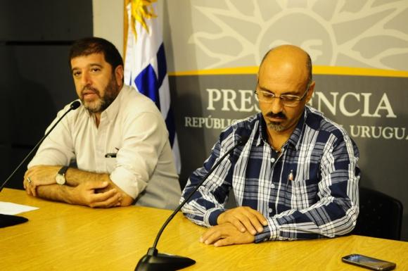 Fernando Pereira y Marcelo Abdala del Pit-Cnt. Foto: M. Bonjour