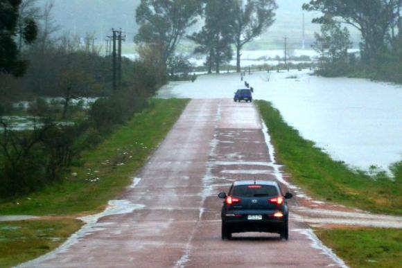 Antiguo acceso por el Arroyo Maldonado quedó cortado. Foto: Ricardo Figueredo