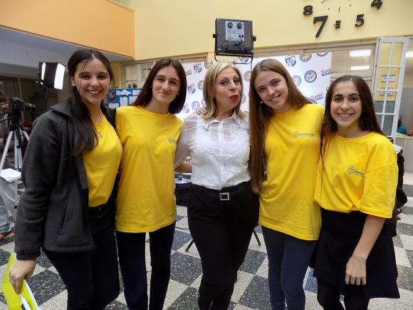 Florencia Minteverde, Manuela Basso, Graciela Rodríguez,Paz del Pino, Natalia Ibañez.
