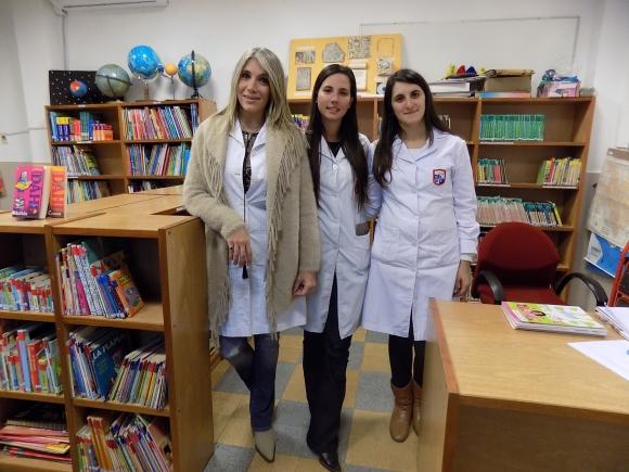 Silvana Muniz, Victoria García, Evelyn Peluffo.