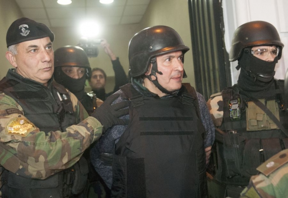 Alterado: antes de declarar ante el juez, José López se mostraba muy nervioso. Foto: EFE