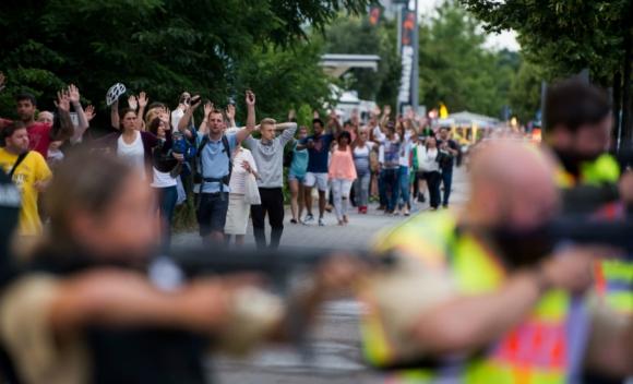 Tiroteo en shopping de Múnich dejó varios muertos y heridos. Foto: AFP