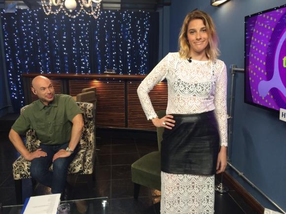 Sofía Bauzá, la rubia mala de la moda en Tv Show.