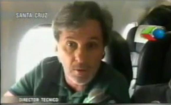 Caio Júnior, el entrenadopr que llevó a Chapecoense a la final de la Sudamericana y murió en el accidente. Foto: Captura Gigavisión.
