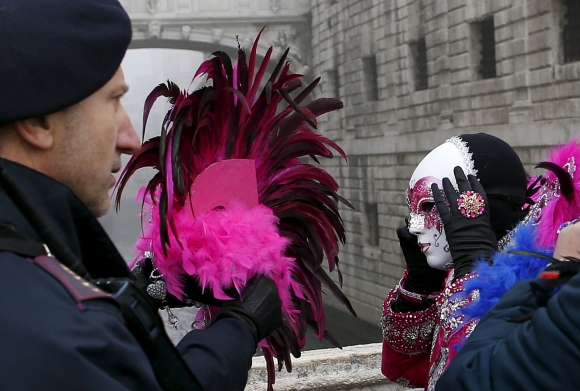 Carnaval de Venecia. Foto: Reuters
