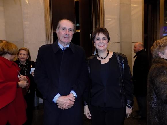 Diego Payssé, María Julia Caamaño.