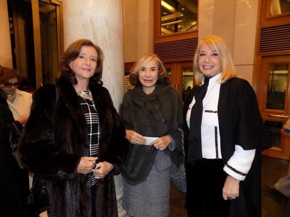 María Pía Bula, Mirtha Curcio, Susana Bernik.