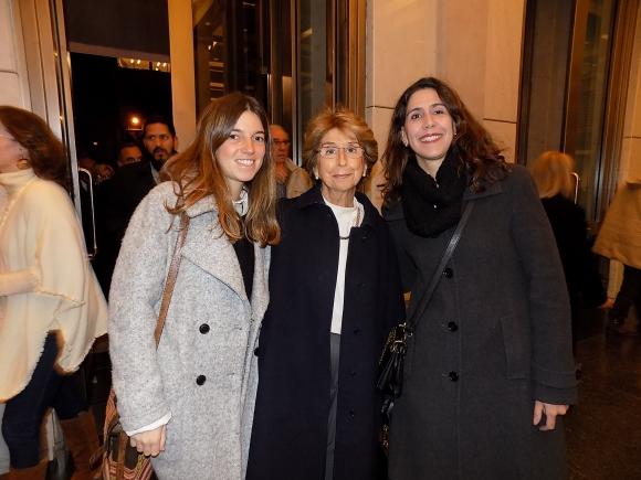 Camila Ferrando, Esther Arrillaga, Alejandra De León.