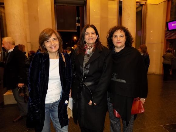 Patricia Cayota, Marcela Bluth, Adriana Tuzman.